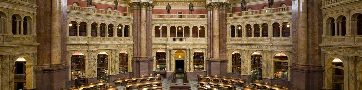 The Library of Congress Main Reading Room