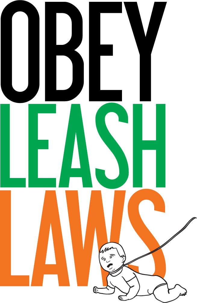 Obey Leash Laws